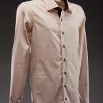 Brown Mujae Dress Shirt