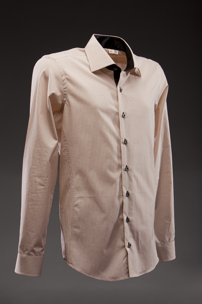 Brown Mujae Dress Shirt